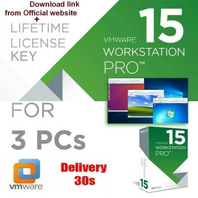 VMware Workstation 15 Pro Download+Activation Key 🔑 3PCs✔️Instant deliv✔