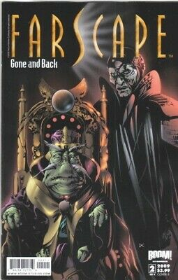 Farscape Gone and Back Comic #2 Cover B 2009 NEW NEAR MINT
