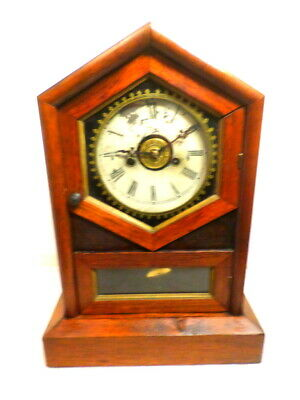 1890 American Model Striking & Alarm Shelf Clock
