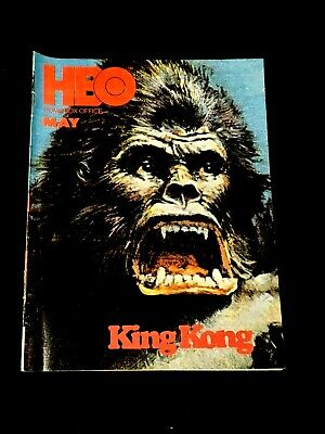 1978 May *King Kong-Bridges/Lange* Hbo Home Box Office Guide Booklet(As)