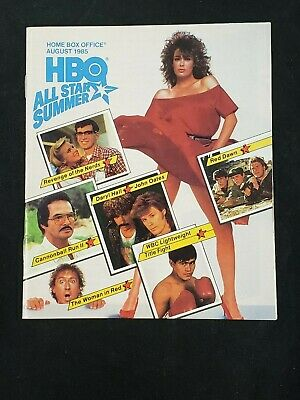 1985 AUG *THE WOMAN IN RED-LeBROCK* HBO HOME BOX OFFICE MOVIE GUIDE (AS)