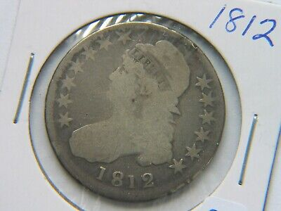 1812 Capped Bust Half Dollar VG Detail