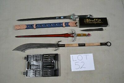 Bulk Lot, Pudao, Overwatch Sword, Buffy Stake, Gun Site Kit and more RRP $480