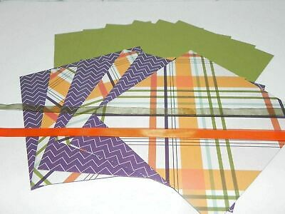 Plaid Zigzag Pattern 6X6 Ep Designer Paper A2 Card Stock Stampin Up