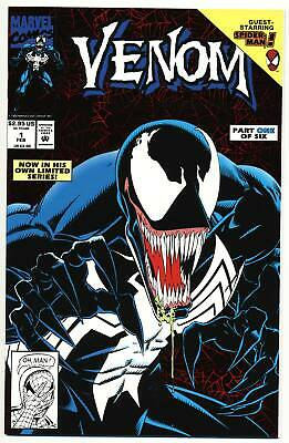 VENOM LETHAL PROTECTOR #1 NM, 1st Solo Title! Red Holofoil, Marvel Comics 1993