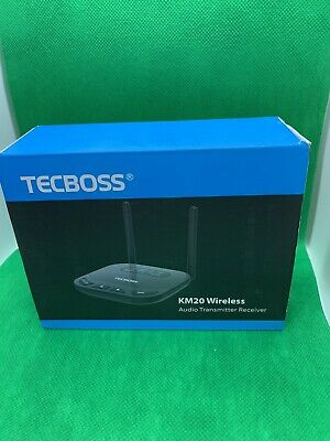 TECBOSS Bluetooth 5.0 2 In 1 Transmitter And Receiver - Model KM20
