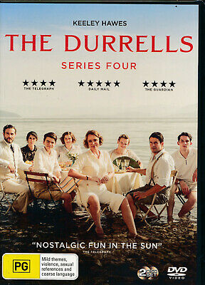The Durrells Series Four 4 DVD NEW Region 4 Keeley Hawes 2-disc
