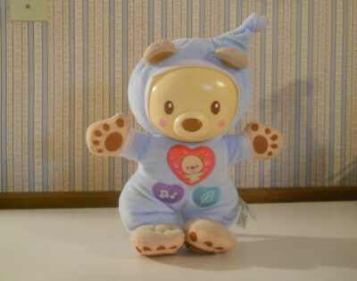 VTech Sleepy Glow Bear plush Light Music Songs soothing sounds mellodies bedtime