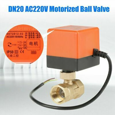 Electrical Ball Valve BW2 1/'/' 2-way 24V AC 3-point