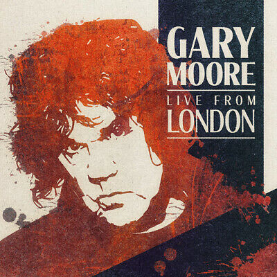"""Gary Moore : Live from London VINYL 12"""" Album Coloured Vinyl (Limited Edition)"""