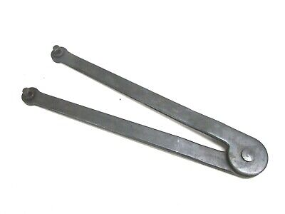 Adjustable Face Spanner Wrench W/ Pins