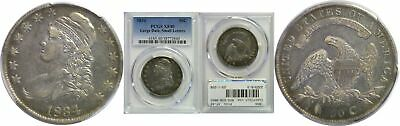 1834 Bust Half Dollar PCGS XF-40 Large Date Small Letters