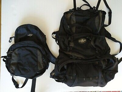Eagle Creek Large Backpack and Zip On Daypack