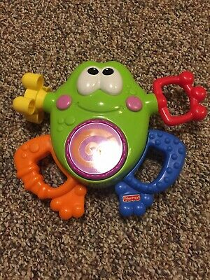 EUC Fisher Price Go Baby Go Silly Sounds Frog Works Perfectly Clean Toy