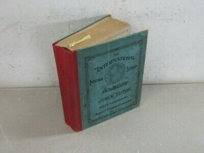 Nystamps Worldwide old stamp collection Scott International Album !
