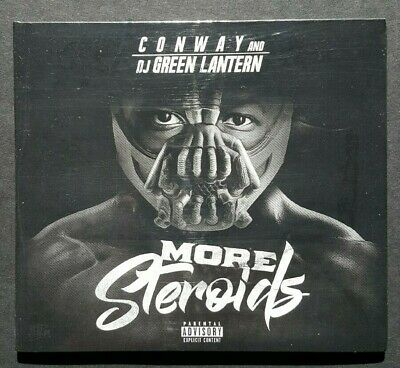 Conway The Machine - More Steroids CD (Sealed) Griselda Records GxFR