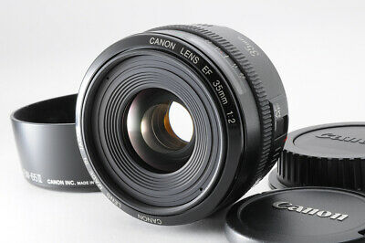 [N.MINT] Canon EF 35mm f/2 AF Auto Wide Angle Prime Lens with Hood from Japan