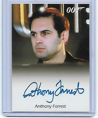 Anthony Forrest James Bond 007 Archives As Bomb Disposal Officer Autograph Auto