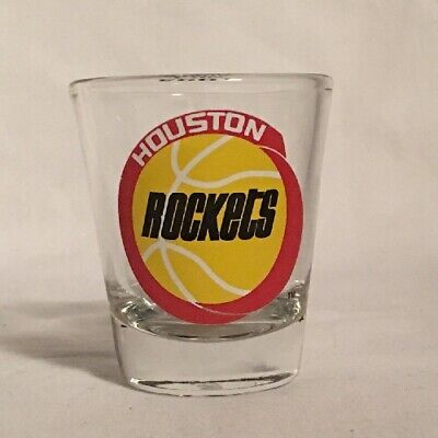 Vintage Houston Rockets 1995 NBA World Champs Shot Glass