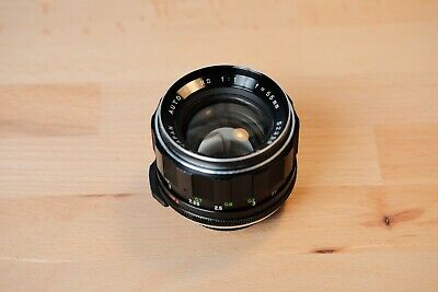 Auto Sears (Rikenon) 55mm f1.4 Lens—M42 Mount—Great Condition—Made in Japan