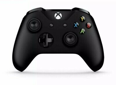 Official Microsoft XBOX ONE Black Wireless Controller For Parts *Sticky A Button