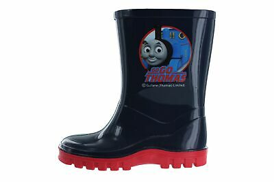 Boys Infant Thomas Tank and Friends Blue Wellies Rain Boots Sizes UK 4-10 Child