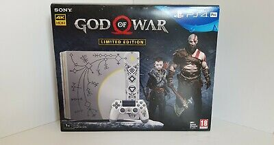 Sony Playstation 4 PS4 Pro Console 1TB God of War Limited Edition CUH-7116B