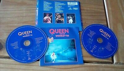 Queen live at wembley '86 double cd