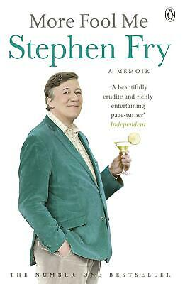 More Fool Me by Stephen Fry (English) Paperback Book Free Shipping!