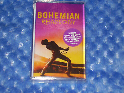 Queen - Bohemian Rhapsody Soundtrack - NEW & SEALED Cassette Tape album 2018