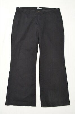 Old Navy 20 Plus Long Black Boot Cut Casual Chino Pants