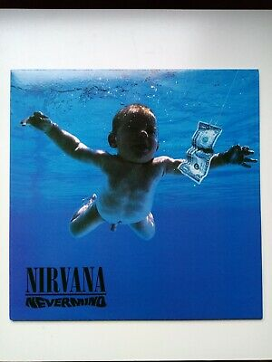 Nirvana - Nevermind LP New/Unplayed (EU) Blue Vinyl!