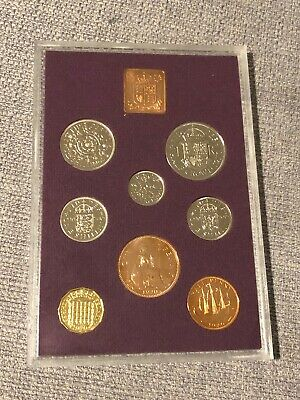 1970 Royal Mint Proof Eight Coin Set,Last Of The £.S.d. Before Decimalisation.