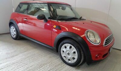 2009 Mini First 1.4 Red 67k miles Full Service History Leather CD 6spd HPi Clear