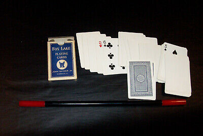 Scarce Society of American Magicians Magic Wand & Fox Lake Blank Snyder Cards