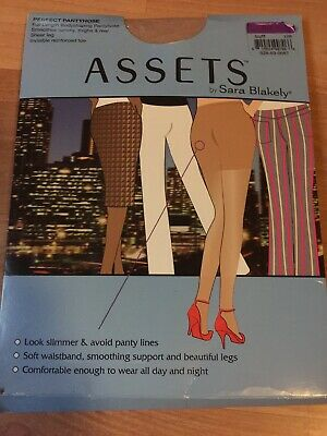 Assets By Sara Blakely Perfect pantyhose Woman's Size 5 In Buff Full Length Body