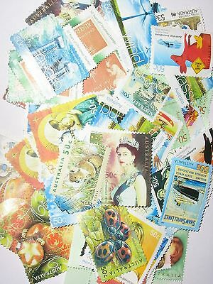 Australia 500 x 50 Cent Stamps Unfranked With Out Gum
