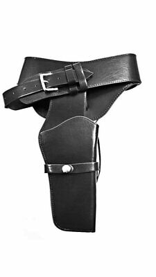 Leatherette Black Gun Holster