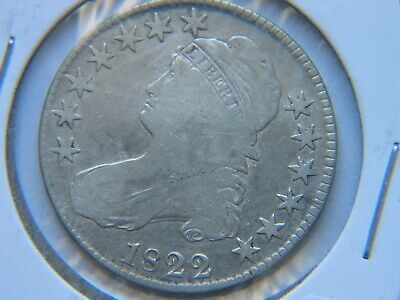 1822 Capped Bust Half Dollar Fine Detail