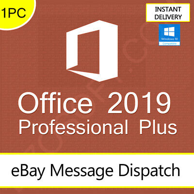 Microsoft Office 2019 Professional Plus - Product License Key Lifetime 32/64