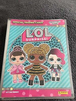 Trading Card BASIC n LOL SURPRISE Panini 2018 GLAM CLUB 85 LIL DOLL FACE