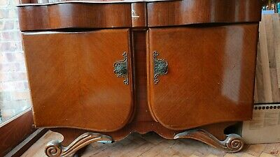 Beautiful Solid Wood Sideboard/Cupboard - Upcycle Project - Antique?