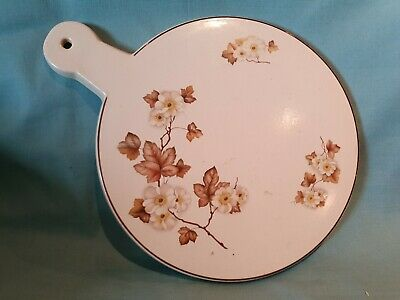 T.G Green Heavy Ceramic Cheese Plate Serving Board Platter Rare Pattern GC