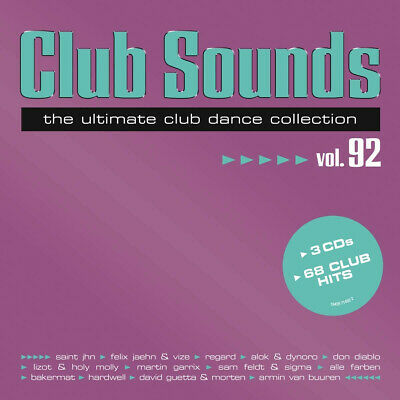 Club Sounds Vol.92 von Various Artists (2020) 3 CD's neuwertig