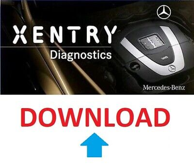 MERCEDES-BENZ XENTRY Diagnosesoftware 09/2019 OS - DOWNLOAD -