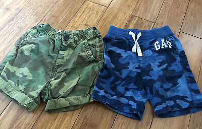 Two Pairs Of Boys Shorts (Gap & Next) - Age 3
