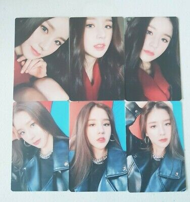 """MONTHLY GIRL LOONA HeeJin 6 Photocard SET - Official MD Showcase of LOONA """"#"""""""