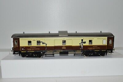 4111315 Darstaed 3354 Internationale Eisenbahn Packwagen creme/braunSpur 0
