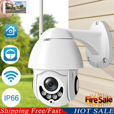 Wireless 5X ZOOM Outdoor CCTV HD 1080P WIFI IP Camera Home Security IR Camera US