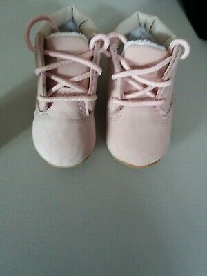 Baby Girls Soft Sole First Timberland Boots, Size 0.5